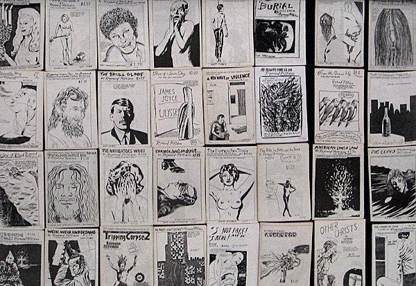 246: Raymond Pettibon Lot of 52 Zine's