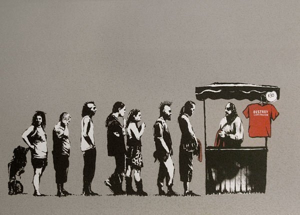 9: Banksy