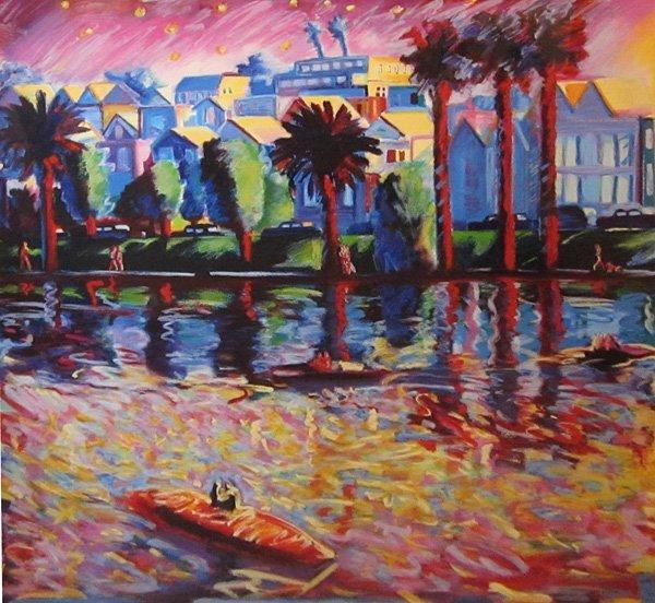 008: Carlos Almaraz, Echo Park, 1990