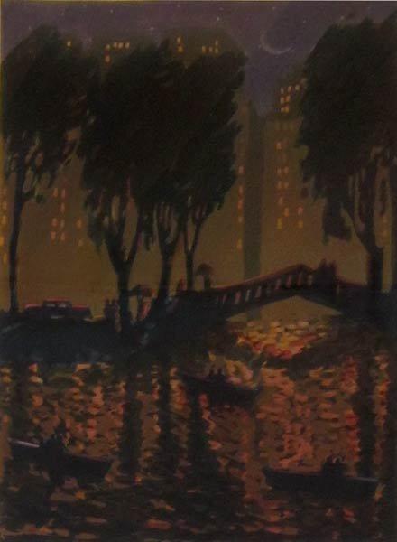010: Carlos Almaraz, City Bridge, 1989