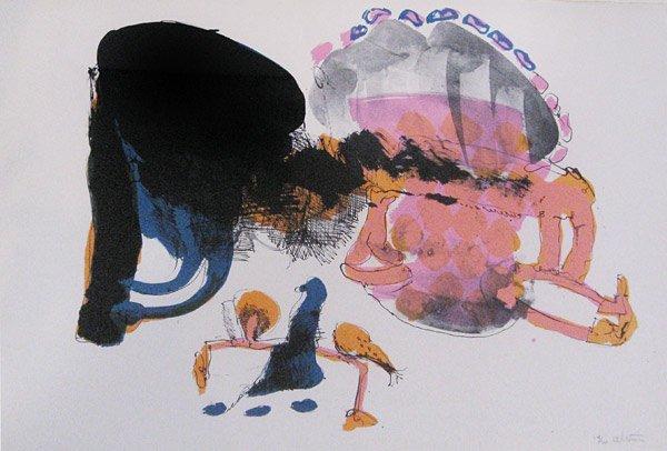011: John Altoon, Untitled, c. 1965