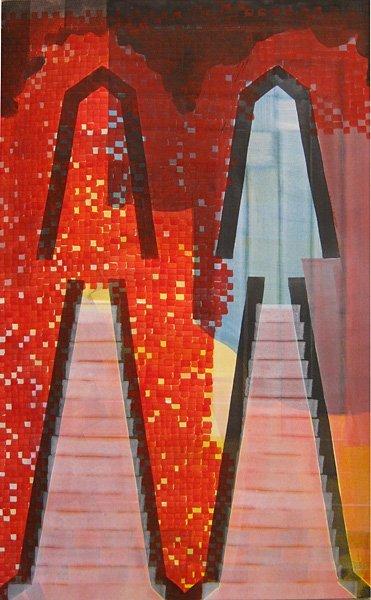 018: Joshua Aster, Red Interior, 2006