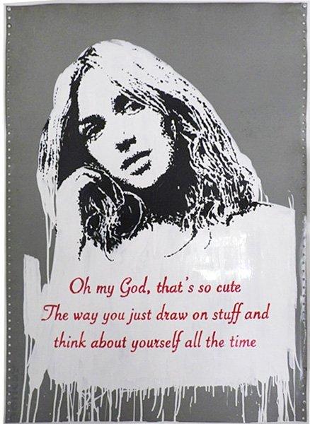 019: Banksy, Oh My God, 2006