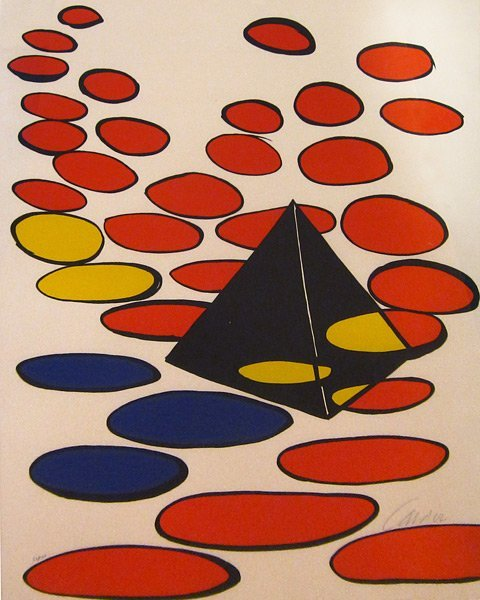013: Alexander Calder, Pyramid, 1975