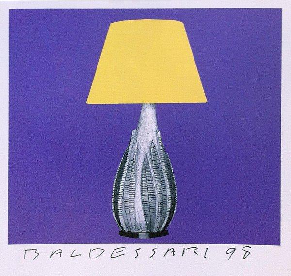 014: John Baldessari, 8 Lamps x 6 - 48: One Plate, 1998