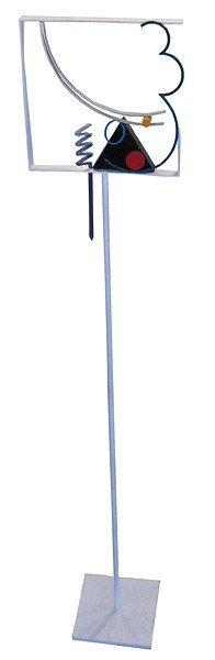 017: Fletcher Benton, Pole Piece, 1990