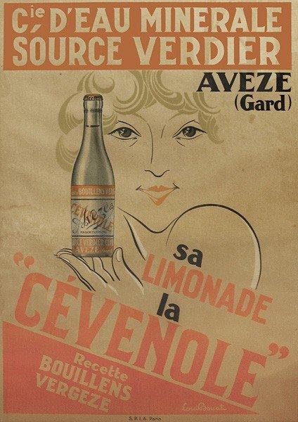 20: Vintage Poster, Cie d'eau minerale source verdier,