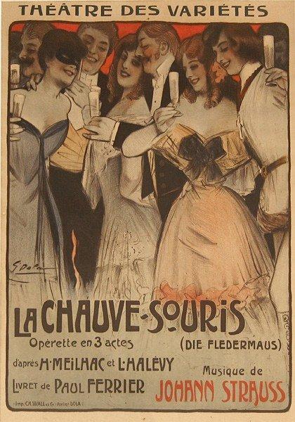 22: Vintage Poster, Theatre Des Varietes..., c. 1900