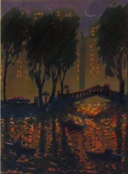 007: Carlos Almaraz Echo Park Bridge, 1989