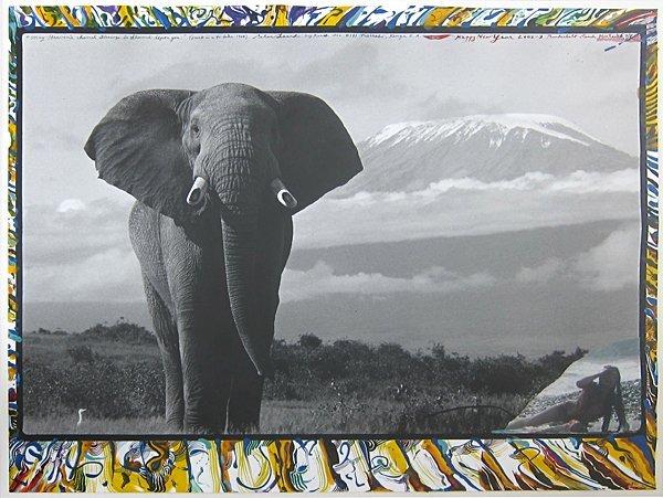 "17: Peter Beard, Untitled (""Happy New Year""), 1964/2003"