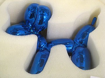 78: Jeff Koons, Blue Balloon Dog, 2003