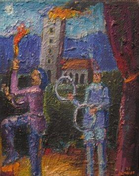 172: Carlos Almaraz, Providence and Charity, 198