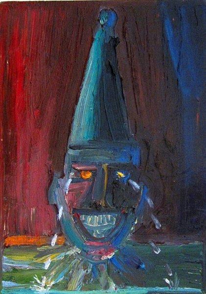 173: Carlos Almaraz, Untitled, 1987