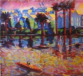 176: Carlos Almaraz, Echo Park, 1990