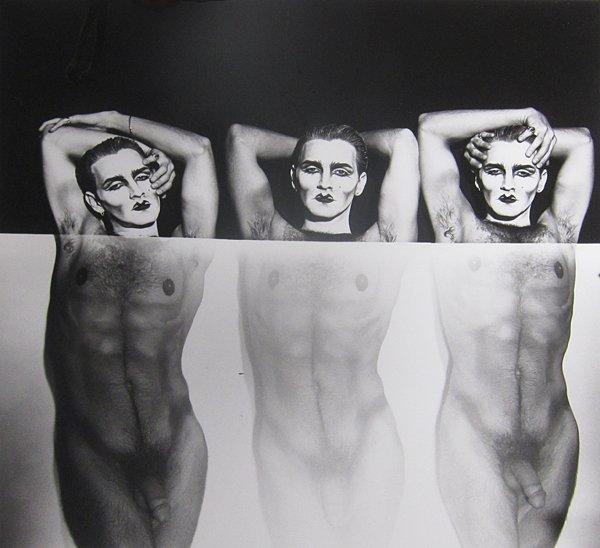 181: Steven Arnold, Three Masks, Materializing, 1989