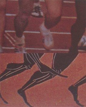 John Baldessari, Los Angeles 1984 Olympic Games