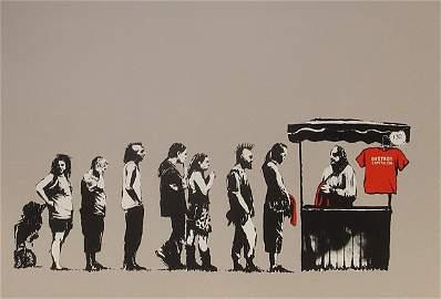 184: Banksy, Defend Capitalism, 2006