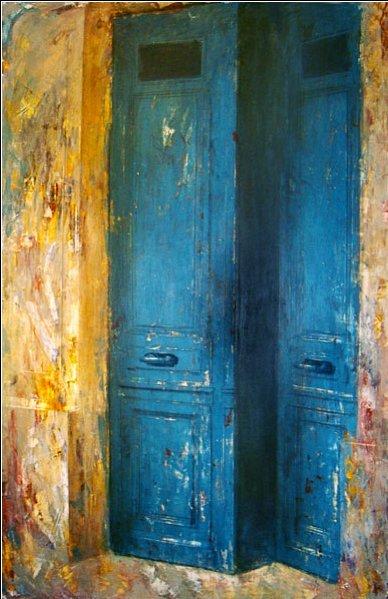 441: Unknown Artist, Untitled (door)