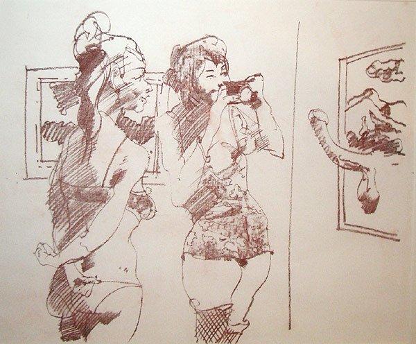 9: John Altoon Untitled