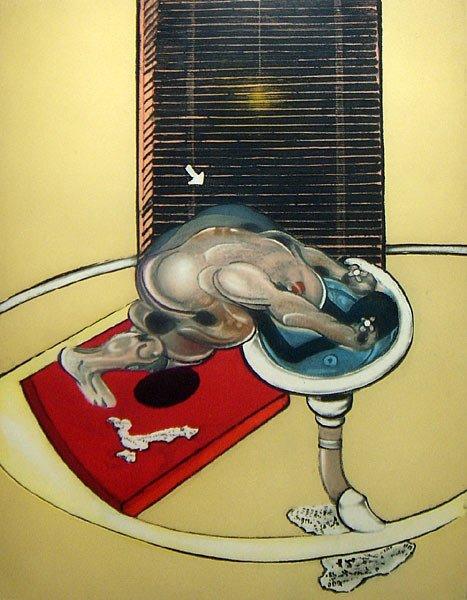 13: Francis Bacon Figure at washbasin