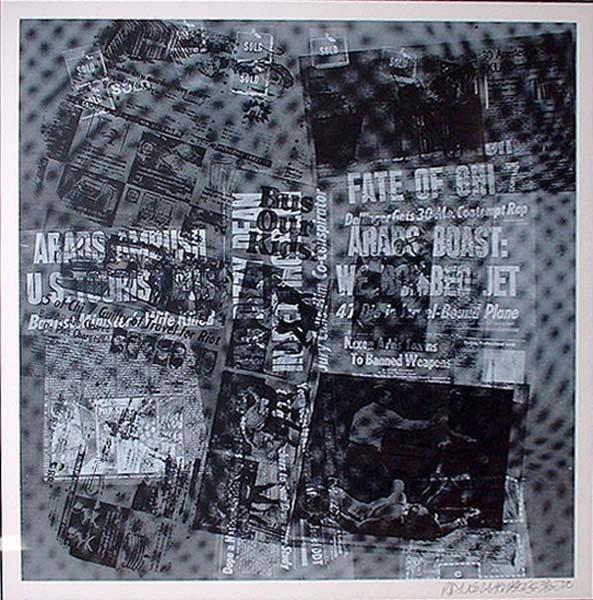 207: Robert Rauschenberg Untitled