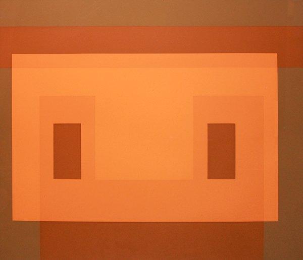 001: Josef Albers Variant MM, 1968