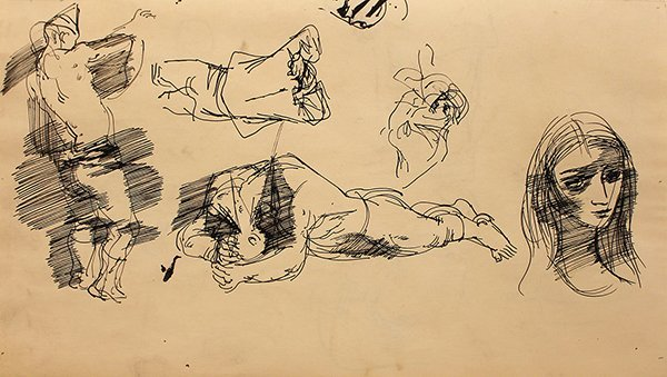 009: John Altoon, Lot of Two