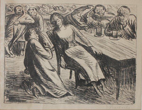 015: Ernst Barlach, Untitled, c. 1915