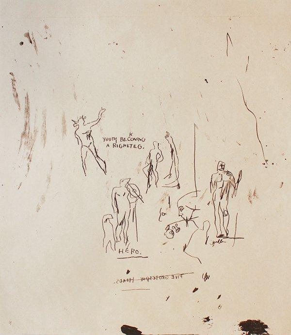 016: Jean-Michel Basquiat, Lot of Three