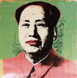195: Andy Warhol Mao FS #95, 1972