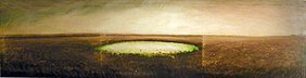 22: David Bierk: Prairie's Pond