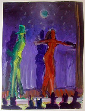 213: Carlos Almaraz: Night Theatrics