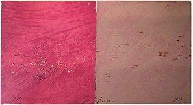 268: Joe Goode:  Two Shot Gun Prints: 2 Frame