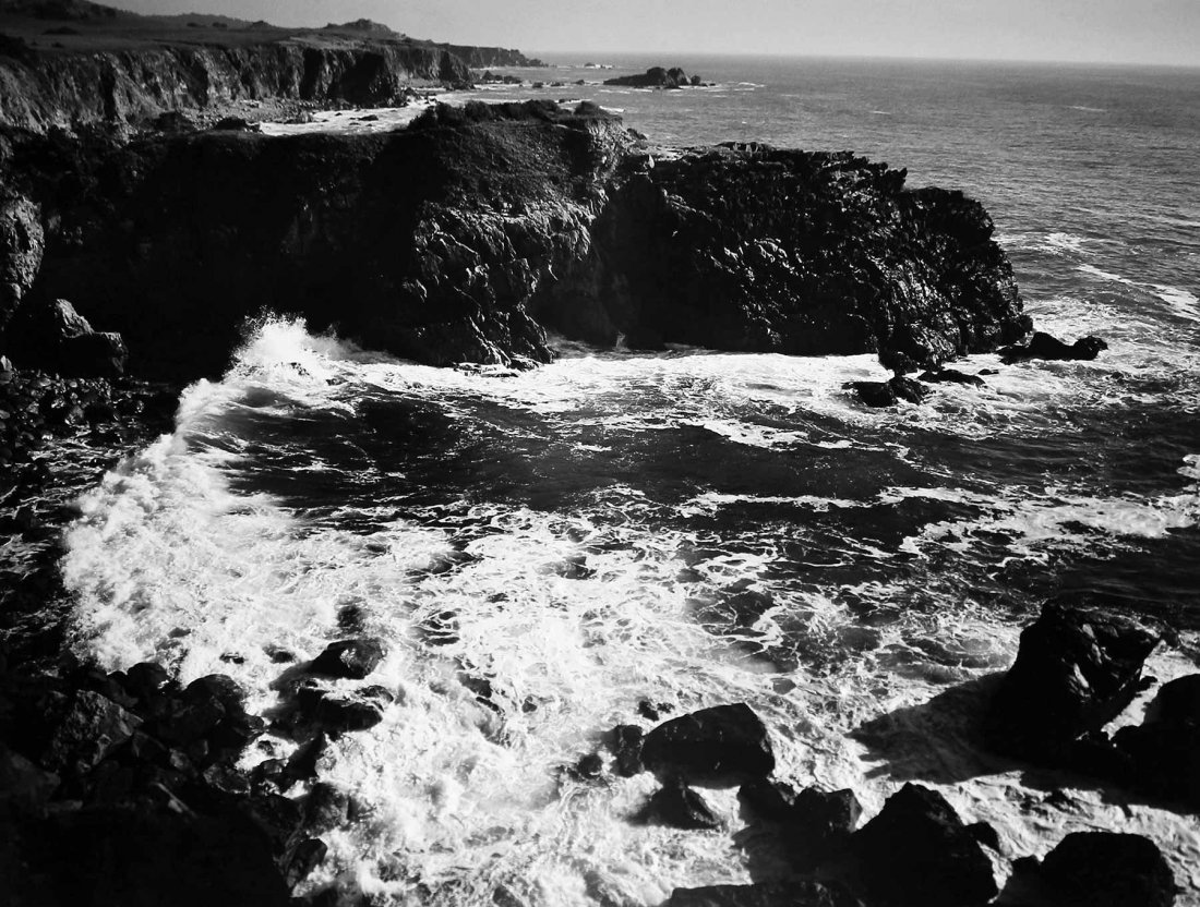 Ansel Adams, Cemetery Point, Timber Cove (3-CAL-388)