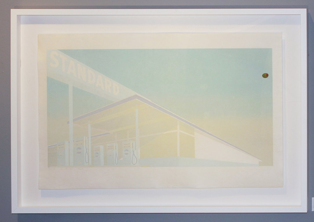 Ed Ruscha Cheese Mold Standard with Olive, 1969