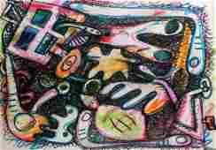 Elizabeth Murray Untitled, 2001