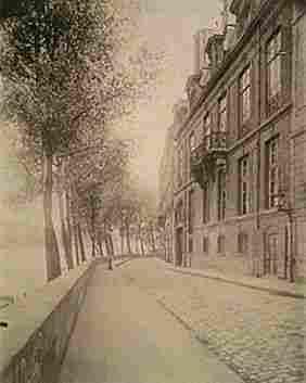 Eugene Atget Hotel de Lauzin, 17 Quai d'Anjou