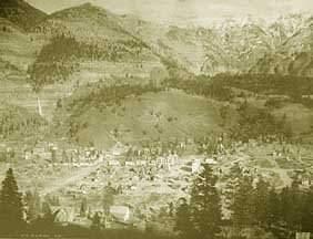 William Henry Jackson No. 1181.Ouray, Colorado,