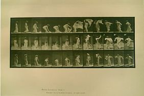 6: Eadweard Muybridge Animal Locomotion (Woman in gown