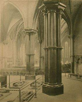 William F. Taylor Interior of the Temple Church Lond