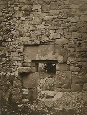 Unknown Photographer Stone Walls, (Pl. L Tempul Na T