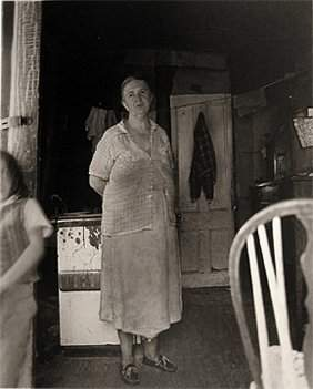 Diane Arbus Woman in a Shack
