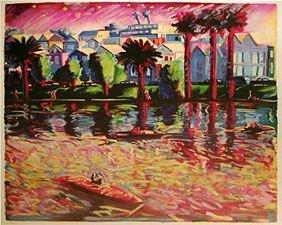 211: Carlos Almaraz Echo Park Lake