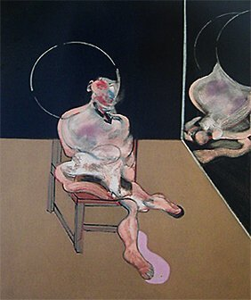 217: Francis Bacon Seated Figure