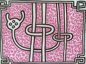 319: Keith Haring (A lot of 2) Chocolate Buddha; Chocol - 2