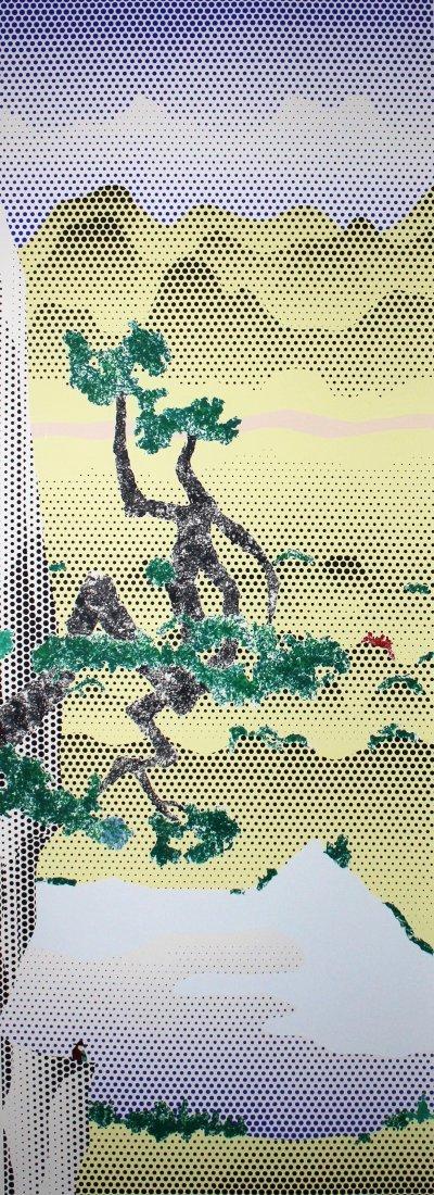 Roy Lichtenstein   Landscape with Poet