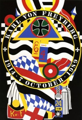 Robert Indiana The Hartley Series Elegies Kvf I