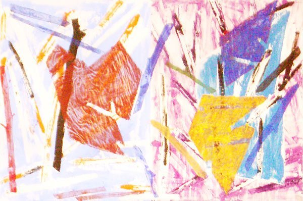 16: Charles Arnoldi Untitled