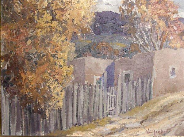 308: Carl Von Hassler Untitled (Albuquerque Landscape)