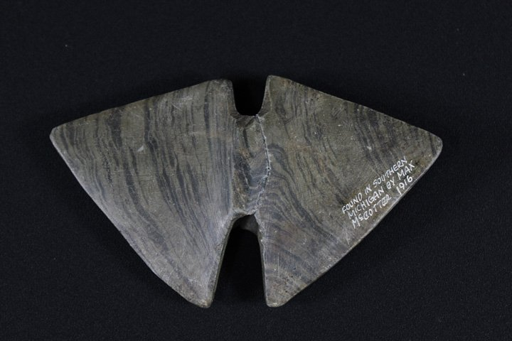 Banded Slate Bannerstone - Great Data!